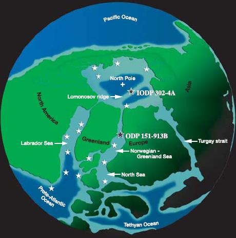 Early Eocene Arctic basin