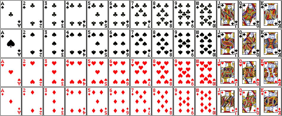 5 cards same suit probability